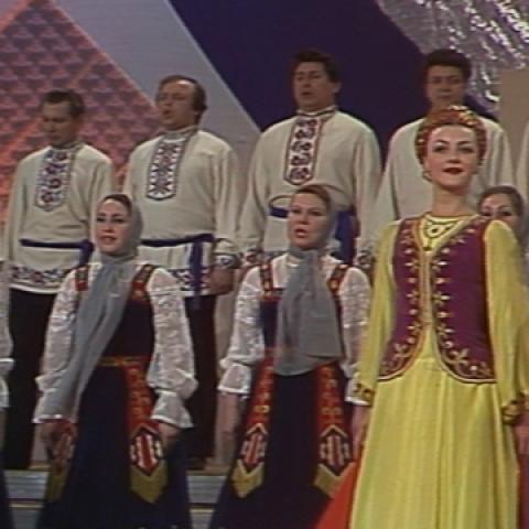 Первомайский праздничный концерт, 1985