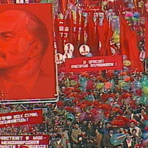 Красная площадь. 1мая 1983года