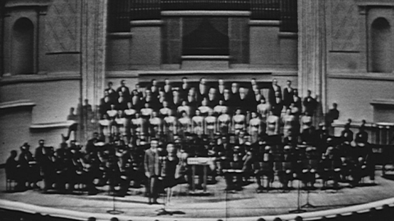 Концерт изпроизведений Аркадия Островского