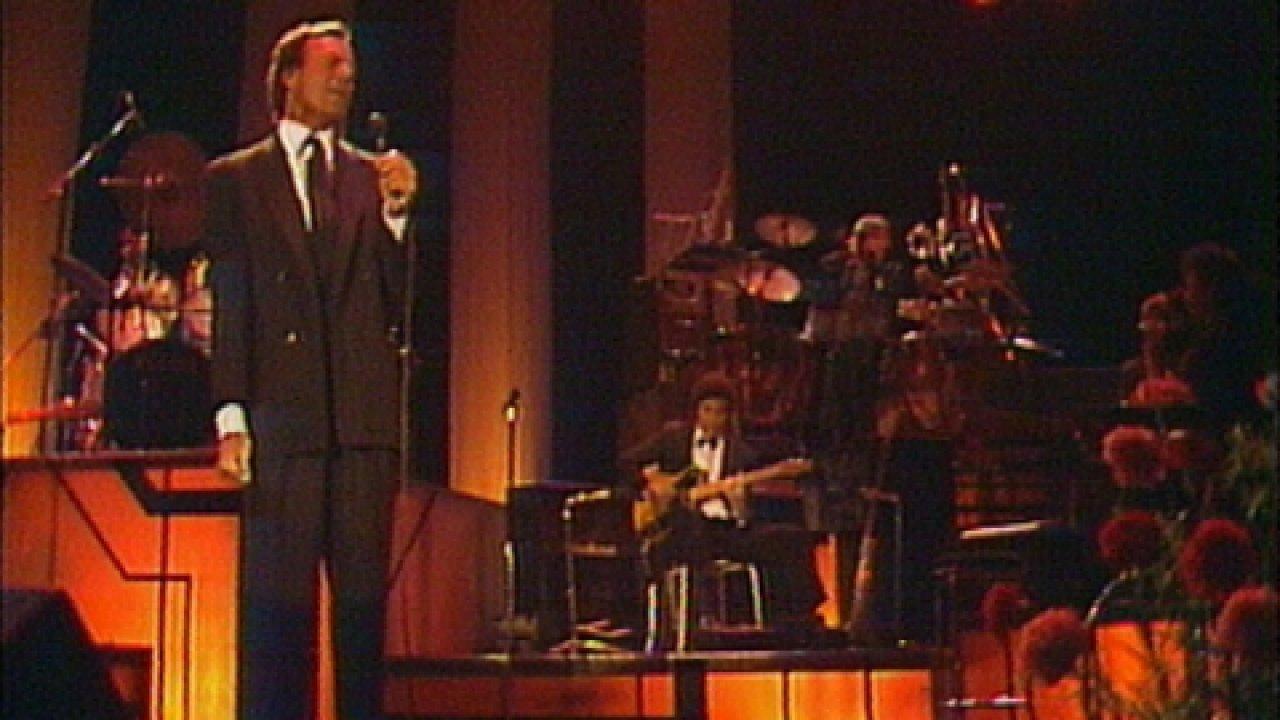 На концерте Хулио Иглесиаса