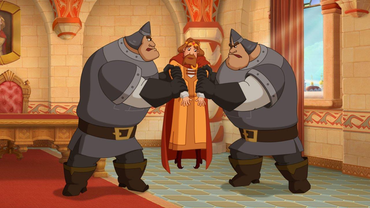 Три богатыря. Ход конем